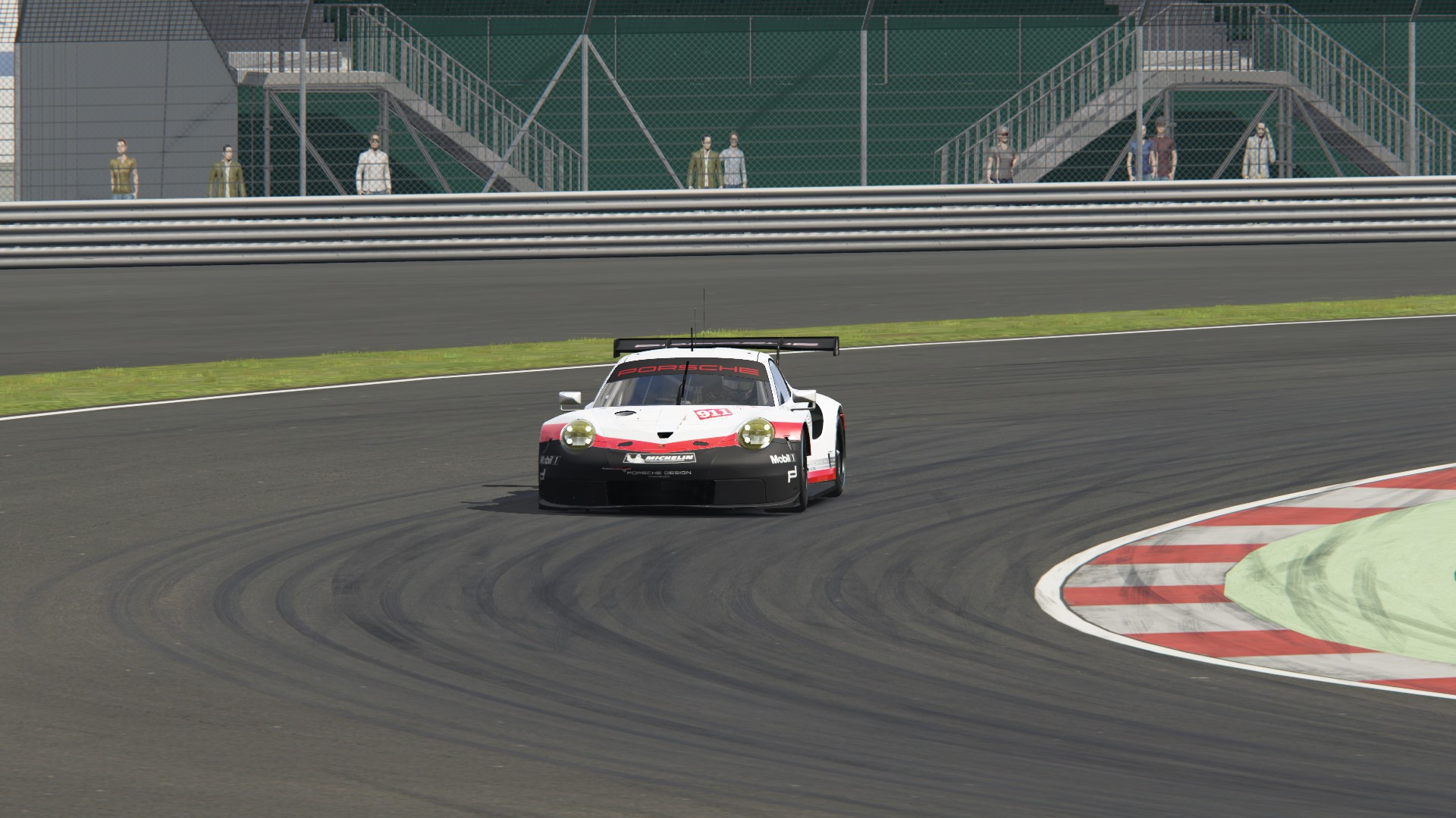 Assetto Corsa Car Setup Guide - Notice how a turning car leans towards the outside of the turn.